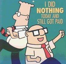 dividend income - I did nothing today and still got paid