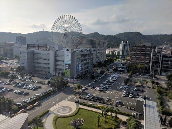 view from Taipei Marriott