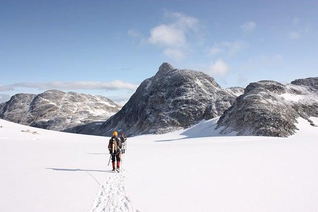 mountaineering hiking skiing