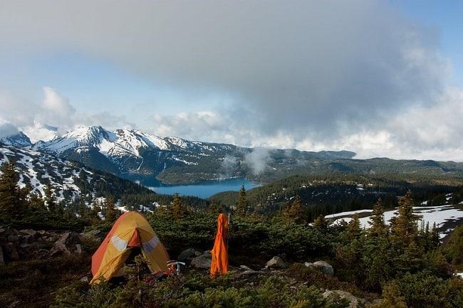 garibaldi camping