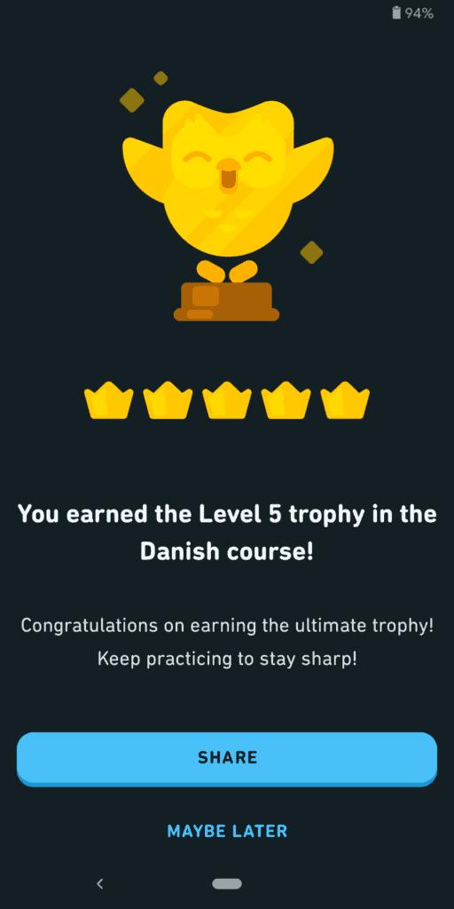 Dulingo Danish